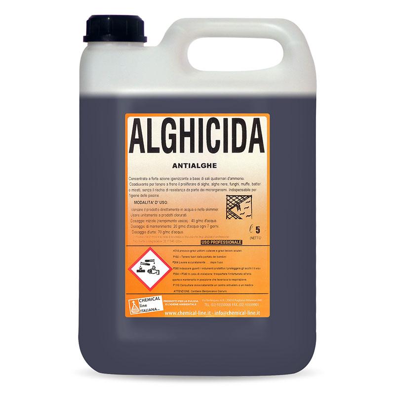Alghicida antialghe chemical line - Trattamento antialghe piscina ...